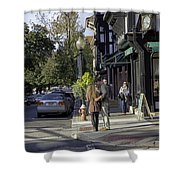 Princeton Afternoon - New Jersey Shower Curtain