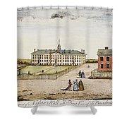 Princeton College, 1764 Shower Curtain