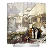 Principal Court Of The Convent Of St. Catherine Shower Curtain