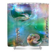 Prismaticity Shower Curtain