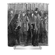 Prison: The Tombs, 1871 Shower Curtain