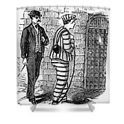 Prison: The Tombs Shower Curtain by Granger
