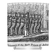 Prisoners, 1842 Shower Curtain