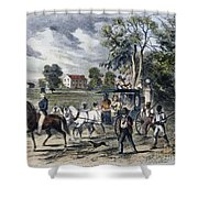 Pro-union South, 1862 Shower Curtain