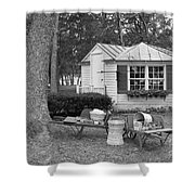 Produce Stand  Shower Curtain