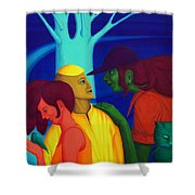 Prompt Shower Curtain