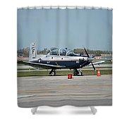 Propeller Plane Chicago Airplanes 10 Shower Curtain