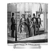 Prostitution, 1850 Shower Curtain