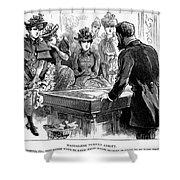 Prostitution, 1892 Shower Curtain