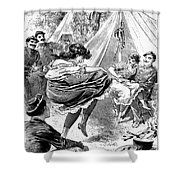 Prostitution, 1895 Shower Curtain