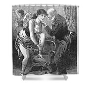 Prostitution, C1880 Shower Curtain