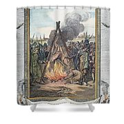 Protestant Martyrs, 1563 Shower Curtain