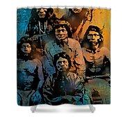 Proud Apache Scouts Shower Curtain