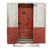 Provence Door 13 Shower Curtain