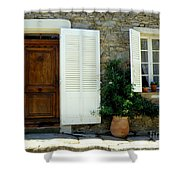 Provence Door Number 4 Shower Curtain