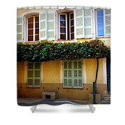 Provence Door Number 8 Shower Curtain