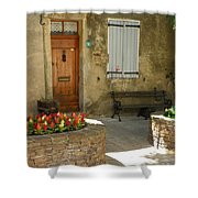 Provence House 2 Shower Curtain