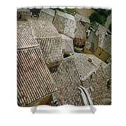 Provence Rooftops Shower Curtain