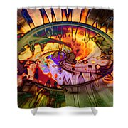 Psychedelic Daze Shower Curtain