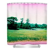 Psychedelic Slew Shower Curtain