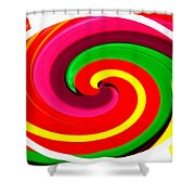 Psychodelia Shower Curtain