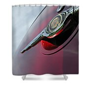 Pt Cruiser Emblem Shower Curtain