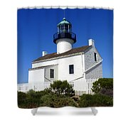 Pt. Loma Lighthouse Shower Curtain
