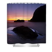 Puddles And Stones Shower Curtain