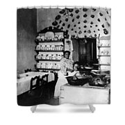 Puebla Mexico - Restaurant -  C 1908 Shower Curtain