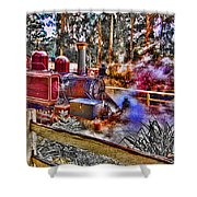 Puffing Billy Shower Curtain