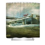 Pullman's Restaurant Shower Curtain