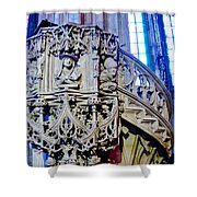 Pulpit St Stephens - Vienna Shower Curtain