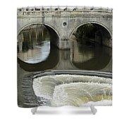 Pulteney Bridge Shower Curtain
