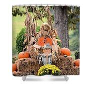 Pumpkin Harvest 2012 Shower Curtain