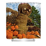 Pumpkin King Shower Curtain