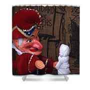 Punch And Judy Shower Curtain