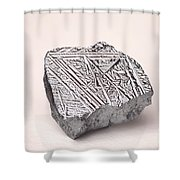 Pure Crystalline Silicon Shower Curtain