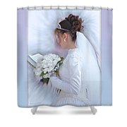 Pure Spotless Bride Shower Curtain