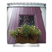 Purple Door Shower Curtain