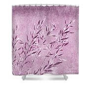 Purple Gras Shower Curtain