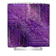 Purple Mystique Shower Curtain
