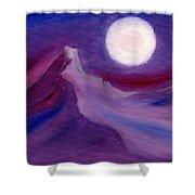 Purple Night 2 Shower Curtain