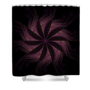 Purple Power Shower Curtain