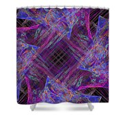 Purples II Shower Curtain