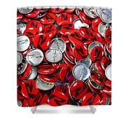 Push Chevys Buttons Shower Curtain