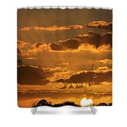 Put Another Day To Rest Shower Curtain