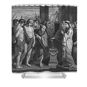 Pylades And Orestes Shower Curtain