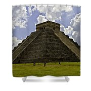 Pyramid Of Kukulkan Two Shower Curtain
