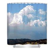 Pyrocumulus Cloud  Shower Curtain