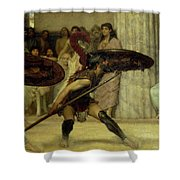 Pyrrhic Dance Shower Curtain